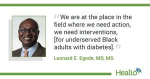 Interventions needed to improve quality of life for underserved Black adults with diabetes