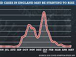 Number of Brits getting ill with Covid has risen by 65% in a week amid spread of Indian variant