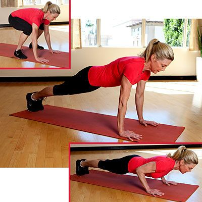 Move of the Day: Power Push-Up Plank