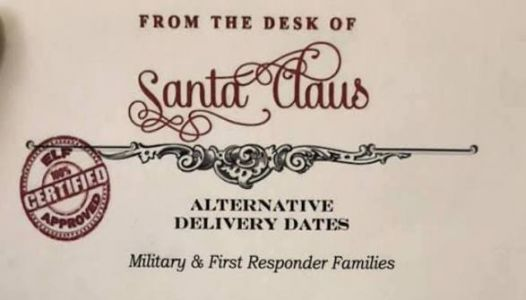 Letter From Santa Offers Perfect Solution For Parents Who Work On Christmas Day