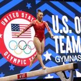 Gymnast Emily Lee Climbed a Rope 1 Week After Achilles Surgery and My Core Burns Just Watching