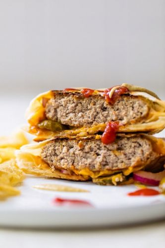 Cheeseburger Crunch Wrap