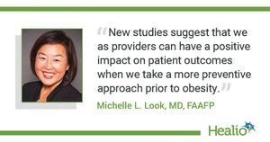 Treat pre-obesity with early intervention