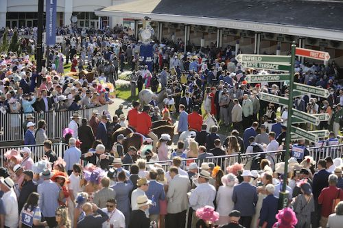 More Than 51,000 People - Many Unmasked - Attended The Kentucky Derby
