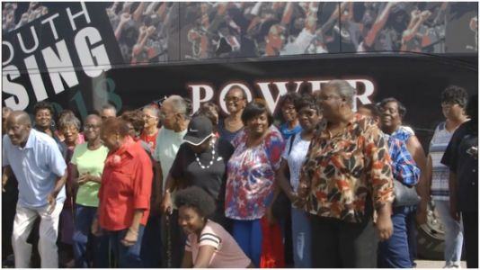 Black Senior Citizens Told To Get Off The Bus Taking Them To Vote