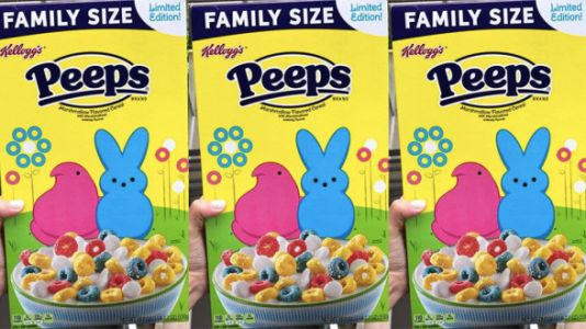 Peeps Cereal Exists And Sounds Utterly Disgusting - Your Kids Will Def Want It