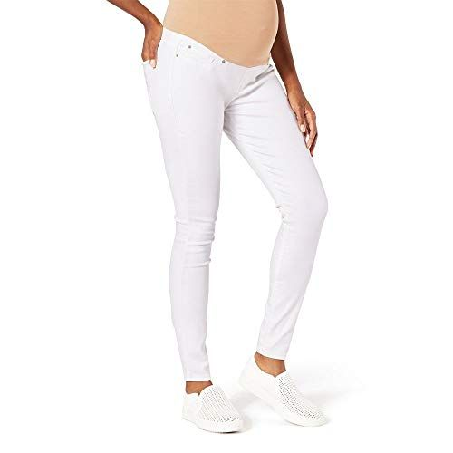 10 Best White Maternity Jeans To Rock During Pregnancy