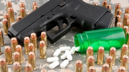 All the SSRI drug retailers who sell psych drugs that lead to mass shootings are now banning customers from carrying legal firearms for self-defense