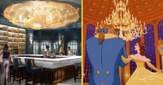 There's A 'Beauty And The Beast' Bar And Lounge Headed To Walt Disney World