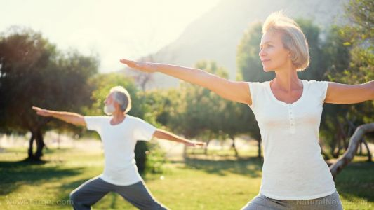Natural treatment for rheumatoid arthritis: Research shows yoga can relieve physical and psychological symptoms