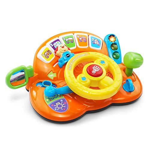 Keep Your Little One Entertained With A Toy Steering Wheel On Your Summer Road Trip