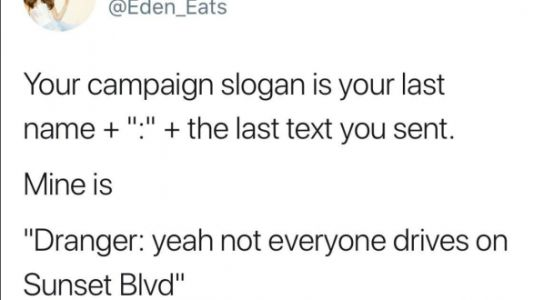 Your 2020 Campaign Slogans Literally Made Us LOL