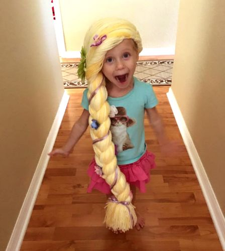 Group Makes Disney-Themed Yarn Wigs For Kids Fighting Cancer