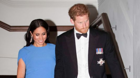 Meghan Markle's Adorable Baby Bump Is Visible For The First Time