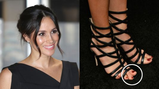 The Internet Is Freaking Out Over This Discovery About Meghan Markle's Toe