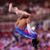 Even in Slow Motion, Simone Biles's Triple-Double Seems to Defy the Laws of Physics