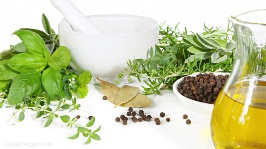 Use oregano oil as a natural method to clean food surfaces