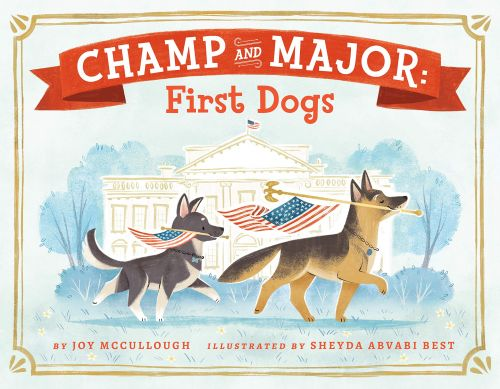 Biden's Dogs, Champ And Major, Are Featured In A New Kid's Book