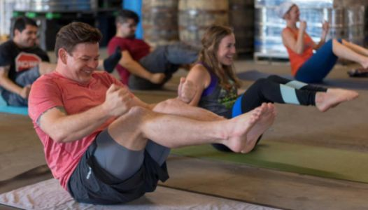 'Rage Yoga' Uses Beer And Swear Words To Release All Of Your Stress