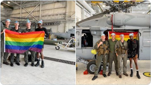 "Beyond insane: U.S. Navy touts ""all-gay"" helo crew as LGBTQ wokeness takes precedent over military readiness"