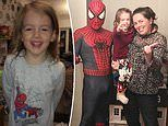 Girl, four, with an inoperable brain tumour dies in her parents' arms