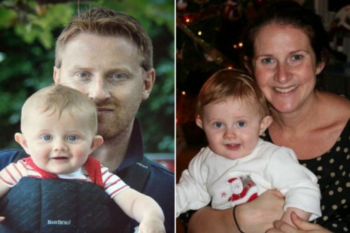 The unimaginable heartache of losing my son and husband just five days apart