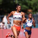 """Win or Lose, Olympic-Bound Runner Kendall Ellis Will Always """"Be a Dog in the Race"""""""