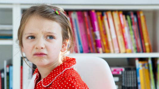 Kids Who Can't Regulate Emotions May Be at Later Risk for Anorexia