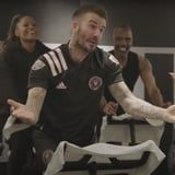 "Seeing David Beckham Cycle to the Spice Girls Will Really Make You Wanna ""Zigazig Ah"""