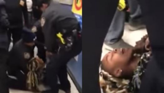 Horrifying Video Shows NYPD Yanking An Infant Out Of A Mother's Arms