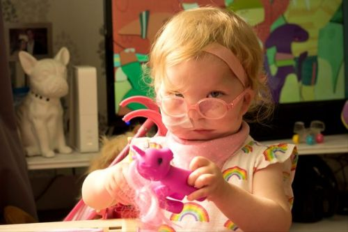 This little girl was given just 20 minutes to live when she was born because she was so ill