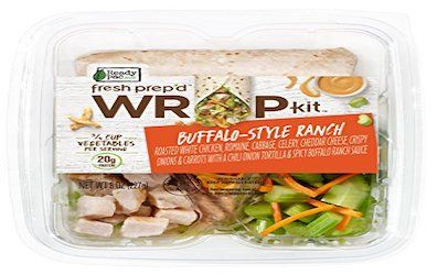 Ready-to-eat chicken wraps recalled for allergens, misbranding