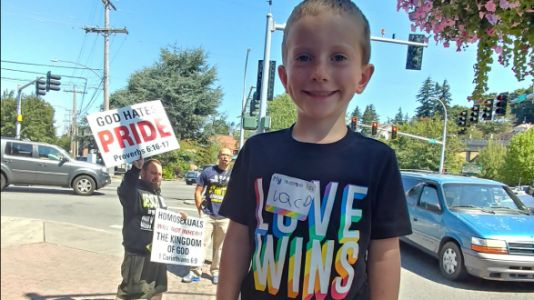 To The Pride Protester Who Said My Kids Are Going to Hell
