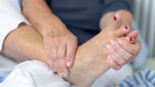 Foot Pain Common but Overlooked in RA