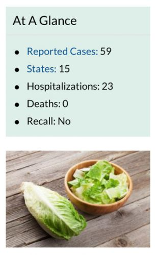 BULLETIN: FDA names California romaine farm as CDC reports additional E. coli patients