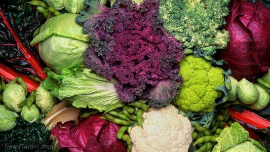 Natural chemicals produced by vegetables like kale and broccoli help maintain a healthy gut and prevent colon cancer