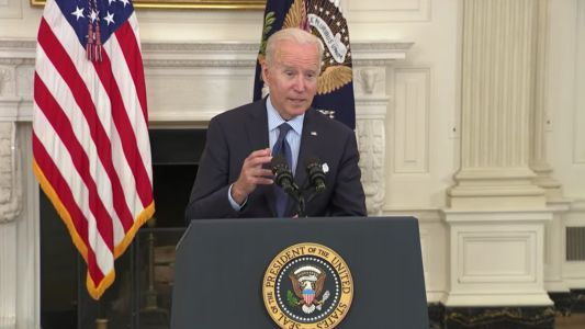 Biden Sets New Goal for COVID-19 Vaccinations