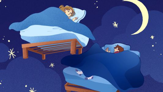 How Separate Bedrooms Saved My Sleep. And My Relationship