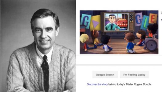The Mister Rogers' 51st Anniversary Google Doodle Has The Internet In Tears