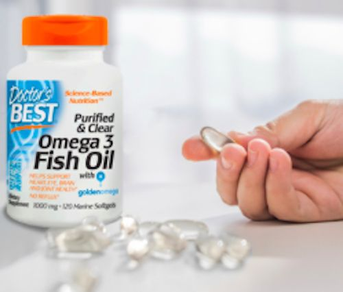 Doctor's Best betting that clear fish oil will help its omega-3s line shine