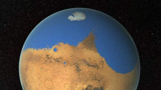 Water on Mars: The Red Planet is dumping its limited water supply into space, say researchers